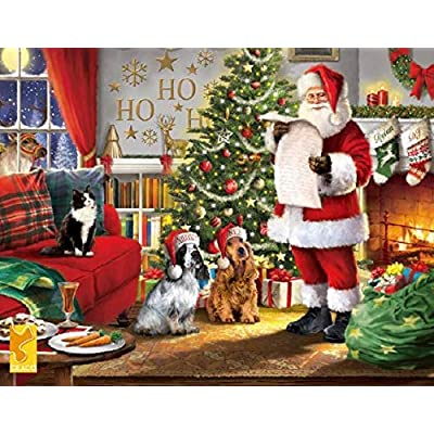 Tis The Season Naughty & Nice Puzzle - 550Piece: Toys & Games