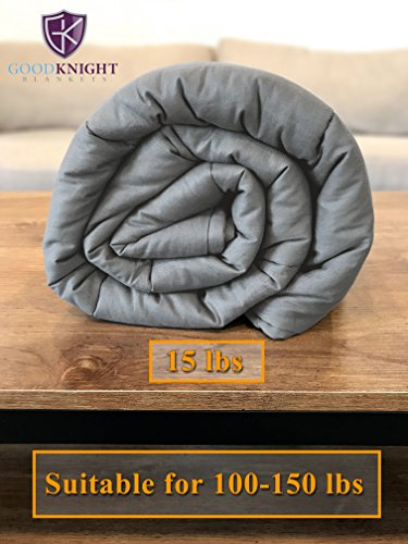 Good Knight Weighted Blanket - 15 Pounds