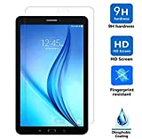 Galaxy Tab E 8.0 Tempered Glass Screen Protector, OEAGO Samsung Galaxy Tab E 8-inch Screen Protector Ballistics Glass 0.3mm 9H Hardness Featuring Anti-Scratch, Anti-Fingerprint Bubble Free