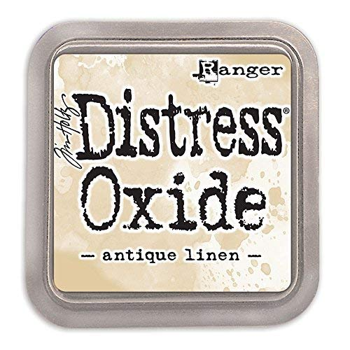 (Ranger Tim Holtz Distress Oxide Ink Pad - Antique Linen )