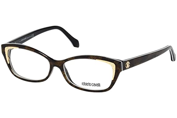 2531978e72 Image Unavailable. Image not available for. Color  Roberto Cavalli RC5034 -  055 Eyeglass Frame ...
