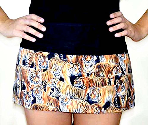 Unisex Grilling Flirty waiter waitress Kitchen Cooking Apron,100% Cotton fabric Apron with 3 Pockets Bengal tigers all over animal by Apronattitudes