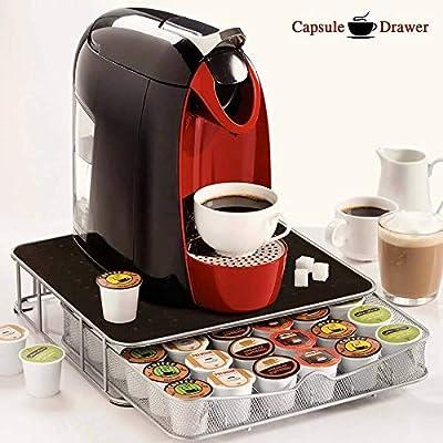 Invero - Cajón de Almacenamiento extraíble para cafetera Nescafe ...