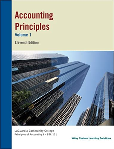 Accounting principles 11th edition volume 1 inc john wiley sons accounting principles 11th edition volume 1 inc john wiley sons 9781118738146 amazon books fandeluxe Choice Image