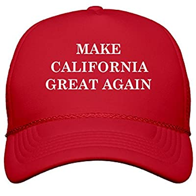 Make California Great Again: OTTO Poly-Foam Snapback Trucker Hat