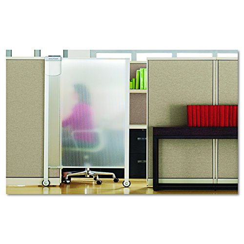 Quartet Premium Workstation Privacy Screen, 64 x 38 Inches, Aluminum Frame (WPS2000) by Quartet