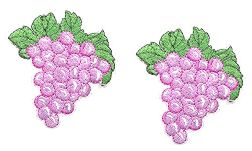 grape applique - 1