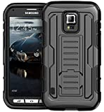 Galaxy S5 Active Case, S5 Active Holster Case By E
