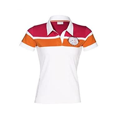 a841ca5d Porsche Design Drivers Collection Polo Shirt Ladies S White at Amazon  Women's Clothing store: