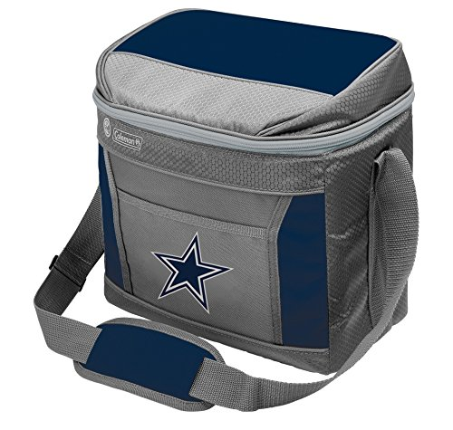 NFL Dallas CowboysSoft-Sided Insulated Cooler Bag, 16-Can Capacity with Ice -