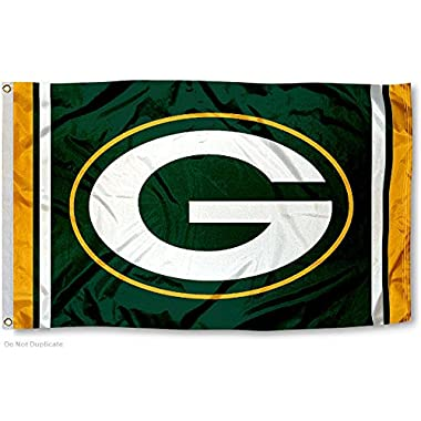 Green Bay Packers Large NFL 3x5 Flag
