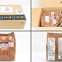 Marca Amazon - Happy Belly Semillas de chía orgánica, 1000 g ...