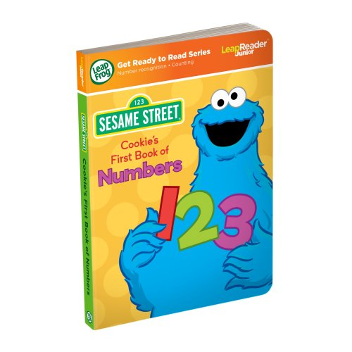 LeapFrog LeapReader Junior Book: Sesame Street Cookie Monster's First Book of Numbers (works with Tag (Street Tags)