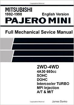 Mitsubishi pajero mini 660cc english mechanical factory service mitsubishi pajero mini 660cc english mechanical factory service manual 6995 free shipping fandeluxe Gallery