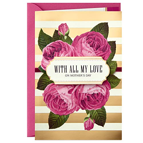 Hallmark Mahogany Mothers Day Card for Wife or Significant Other (with All My Love)