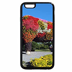 iPhone 6S Plus Case, iPhone 6 Plus Case, Flowers cow.