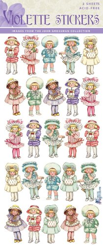 Violette Stickers Dainty Dimples Dolls