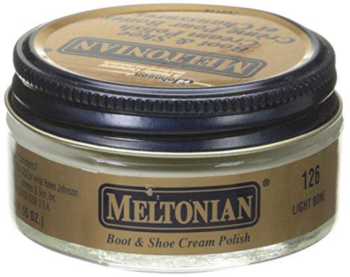 Meltonian Shoe Cream, 1.55 Oz, Light Bone (Footwear Light Bone)