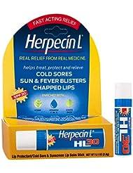 Herpecin L Lip Balm Stick, SPF 30 & Lysine, 0.1 Ounce Tube