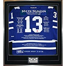 Mats Sundin Career Jersey #13 of 199 - Signed - Toronto Maple Leafs