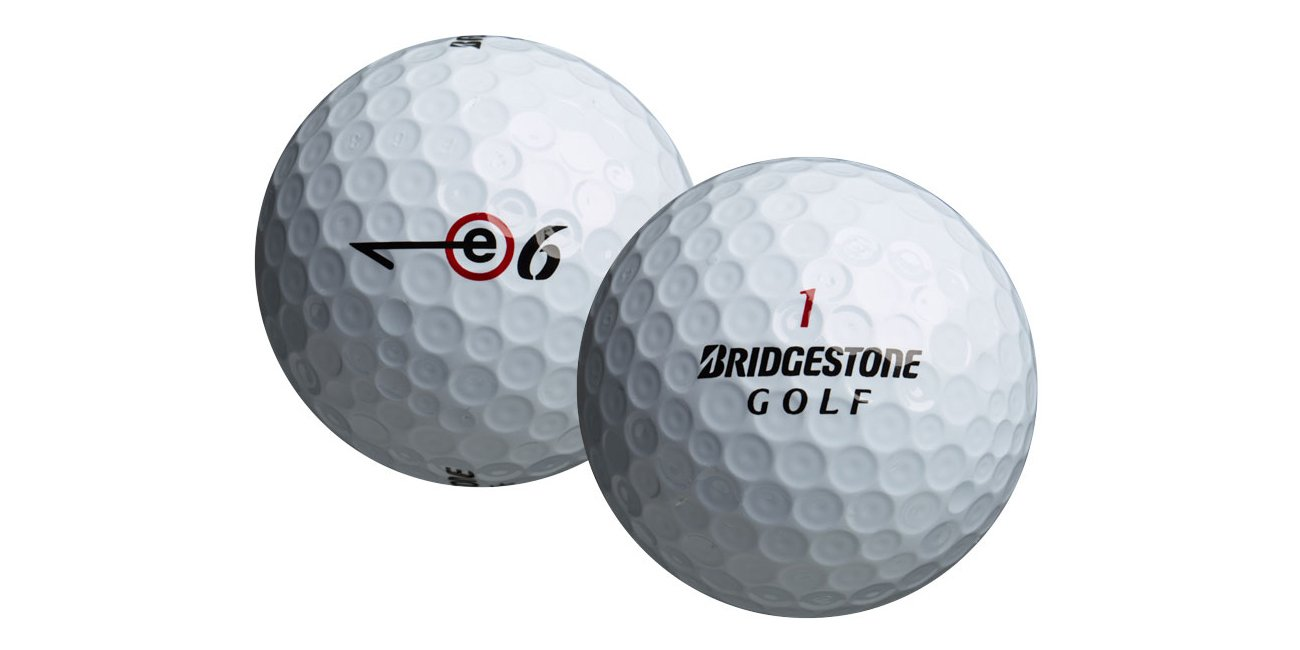 Bridgestone E6 Mint Quality Value Bucket (50 Balls), White