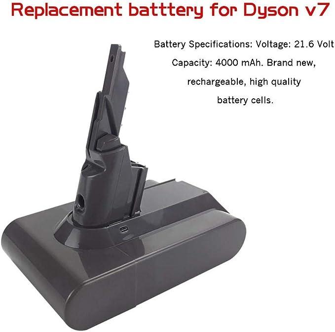 Findema Reemplazo de la batería para Dyson V7 Animal Trigger ...