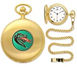 UAB Blazers Pocket Watch - Gold