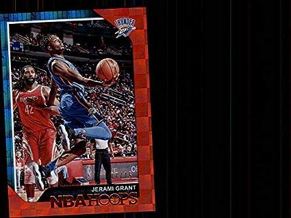 d2c78de89f1 Amazon.com  2018-19 NBA Hoops Red Checkerboard  50 Jerami Grant ...