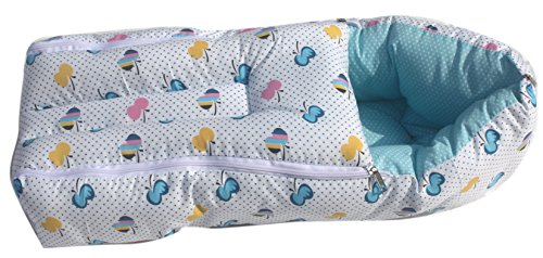 Amardeep and Co Baby Sleeping Bag Cum Baby Carry Bag (Blue)