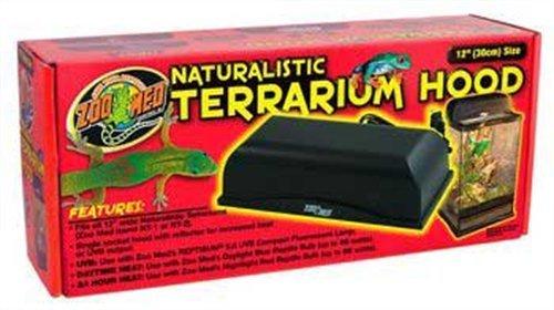 (Zoo Med Naturalistic Terrarium Hood, 12-Inch)