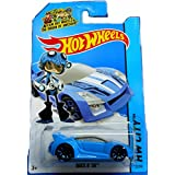 Hot Wheels 2014 Hw City Speed Team Blue Quick N' Sik 32/250 by Mattel