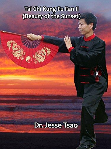 Tai Chi Kung Fu Fan II (Beauty of the Sunset) by