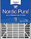 Nordic Pure 20x25x5 (4-7/8 Actual Depth) MERV 12
