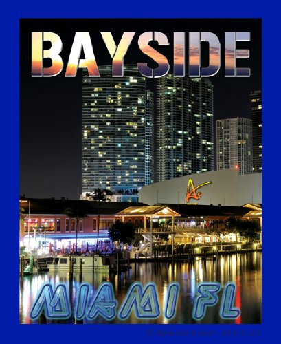 Best Ultimate Florida Bayside Night Travel Collectable Souvenir Patch - Destination Photo Souvenir Postcard Type Quality Photos Graphics Iron-On Patch - Bayside Miami Florida at - Miami Bayside