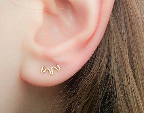 double-piercing-tiny-double-piercing-double-stud-earring-double-hole-stud-two-hole-stud-double-lobe-