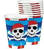 Amscan Pirate's Treasure Cups 8 Ct.