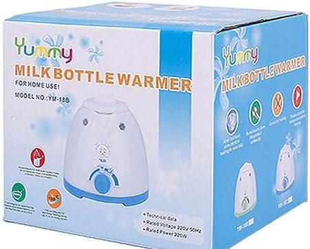 S.N Calentador de biberones Inteligente Leche Caliente Leche Caliente Leche Multifuncional Calentador de biberones esterilizador, calefacción de Alimentos para bebés, Blanco Seguro y ecológico