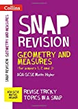 Collins Snap Revision – Geometry and Measures (for papers 1, 2 and 3): AQA GCSE Maths Higher