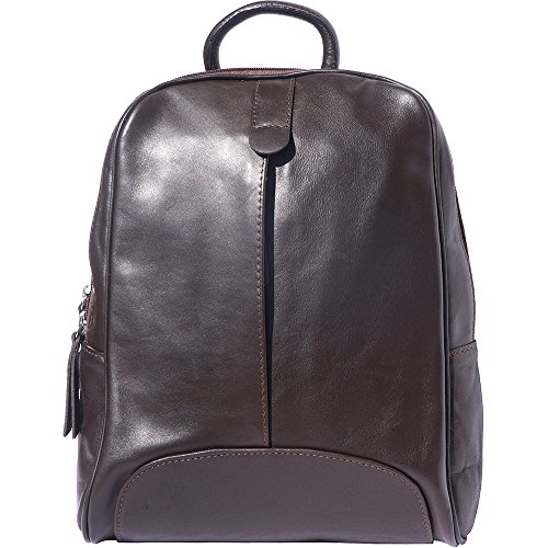 "Backpack ""cinzia"" Calfskin Dark Brown 6146"