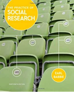 9781133049791: the practice of social research, 13th edition.