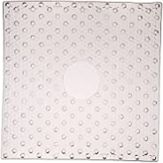 Con-Tact Brand PVC Shower Mat, Clear Bubble, 21""