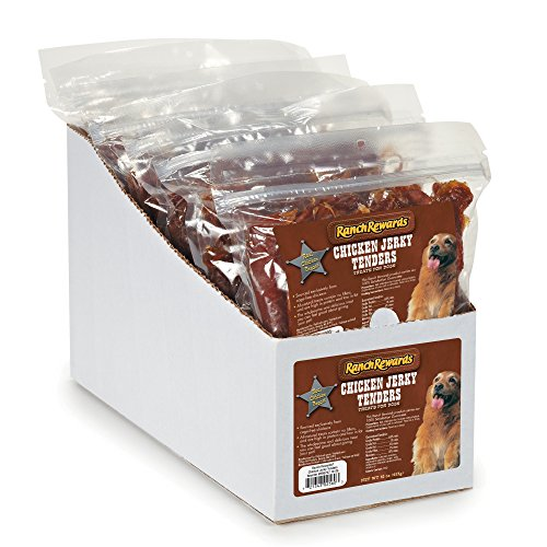 Ranch Rewards Chicken Jerky Tenders Display for Dogs