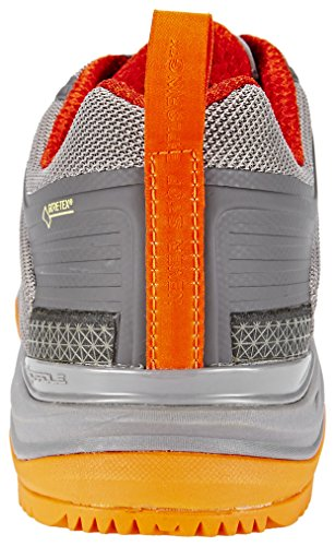 North Face M Ultra Fastpack Ii Gtx - zapatos da caminata y excursionismo Hombre Q-Silver Grey/Tibetan Orange