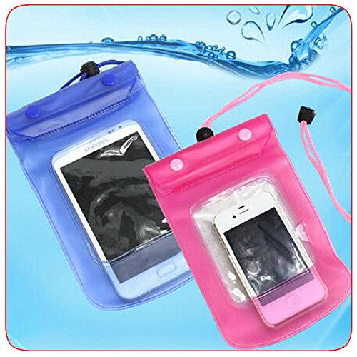 - Domire Waterproof Bag Case for Cell Phone / PDA Blue
