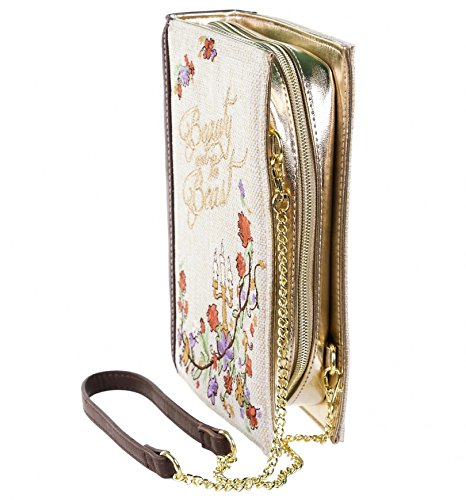 Disney Beauty And The Beast Book Clutch Bag from Danielle Nicole