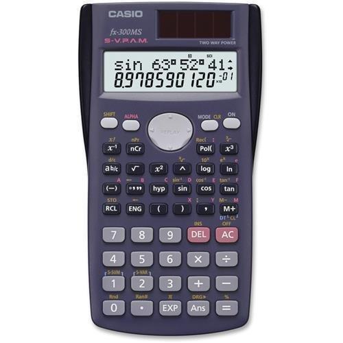 FX300MS Casio FX-300MS Scientific Calculator - 229 Functions