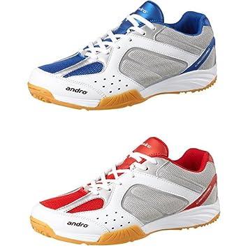Andro Zapatos Alpha Step II, Blanco/Azul, 10: Amazon.es: Deportes ...