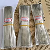 ZHONGJIUYUAN 50-Pack Excellent Long Beading Needles 0.65x230mm