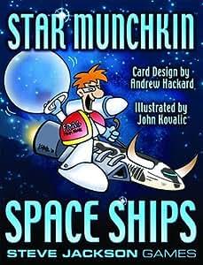 Steve Jackson Games sjg04214–Tarjeta Juegos, Munchkin Space Ships