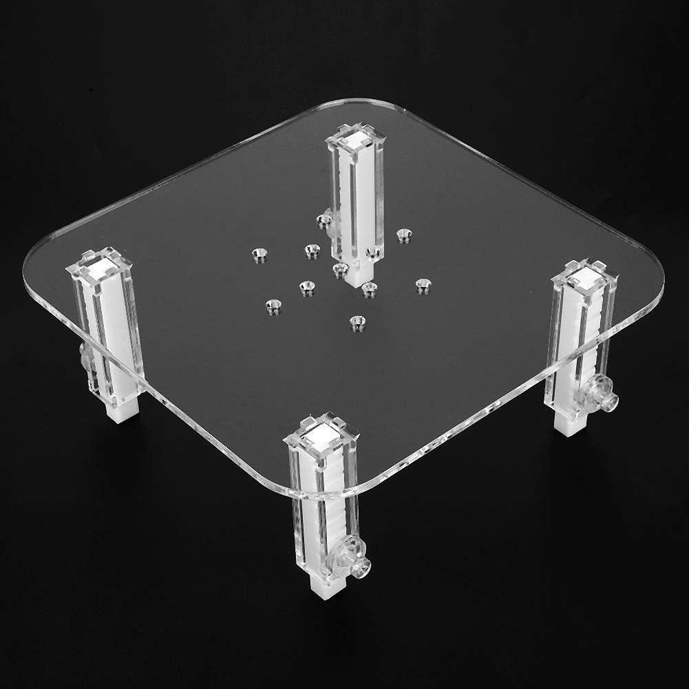 Conlense Protein Skimmer Bracket,Acrylic Durable Protein Skimmer Bracket Adjustable Height Separator Heightening Accessories S